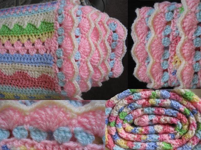 Tina's Allsorts, Stripey Blanket