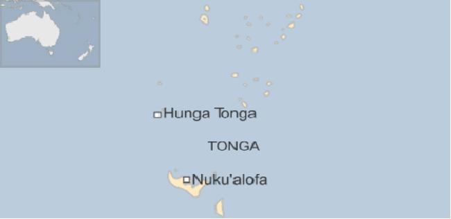 Nace nueva isla en el Pacífico Sur producto de una erupción volcánica