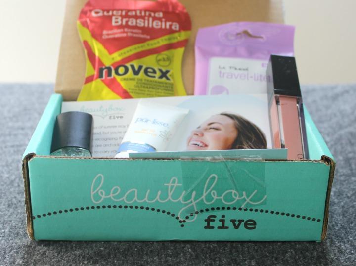 Beauty Box 5 Five August 2014