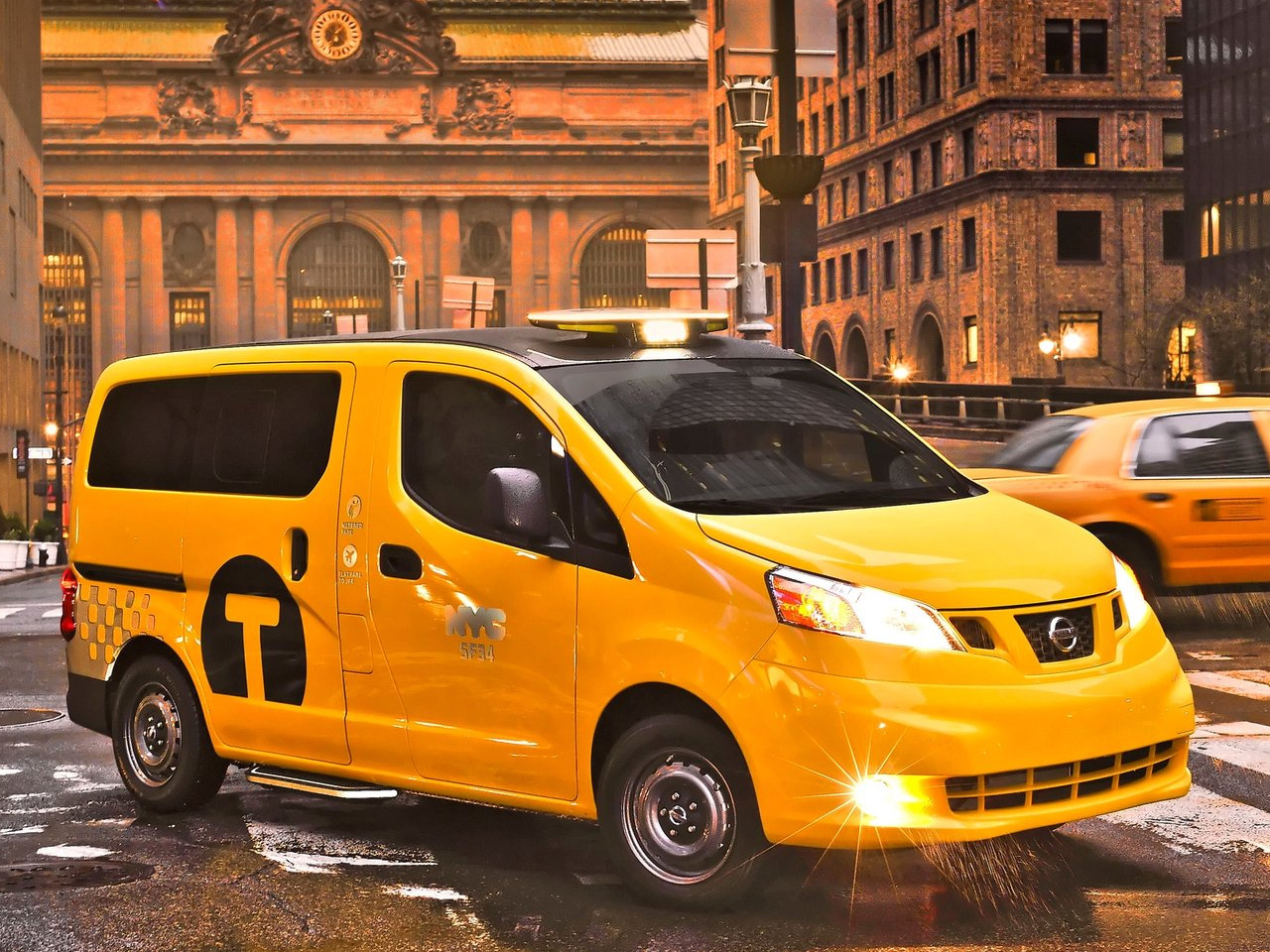 nancys car designs 2014 nissan nv200 taxi. Black Bedroom Furniture Sets. Home Design Ideas