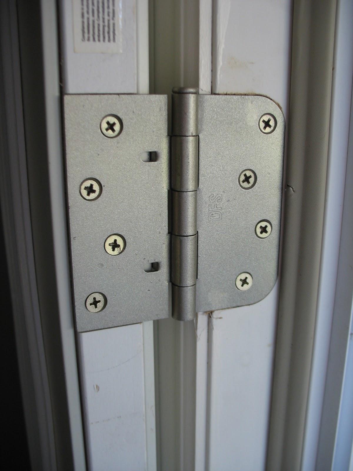 Painting Door Hinges Silver