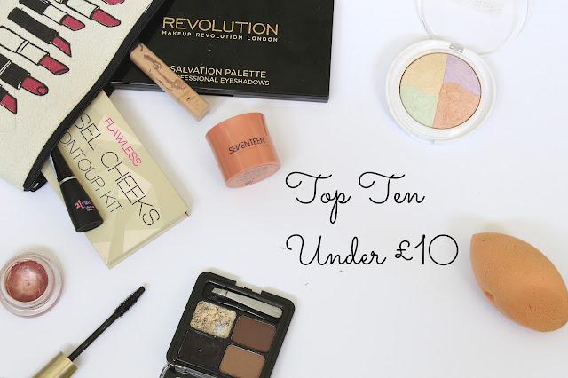 top ten products under £10
