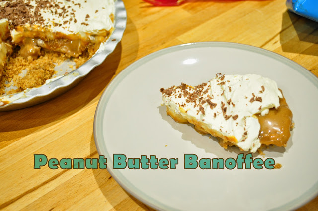Peanut butter banoffee