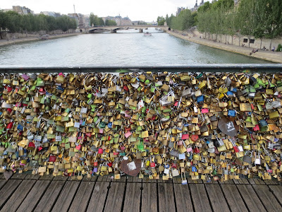 Pont Des Arts, Paris, France www.thebrighterwriter.blogspot.com