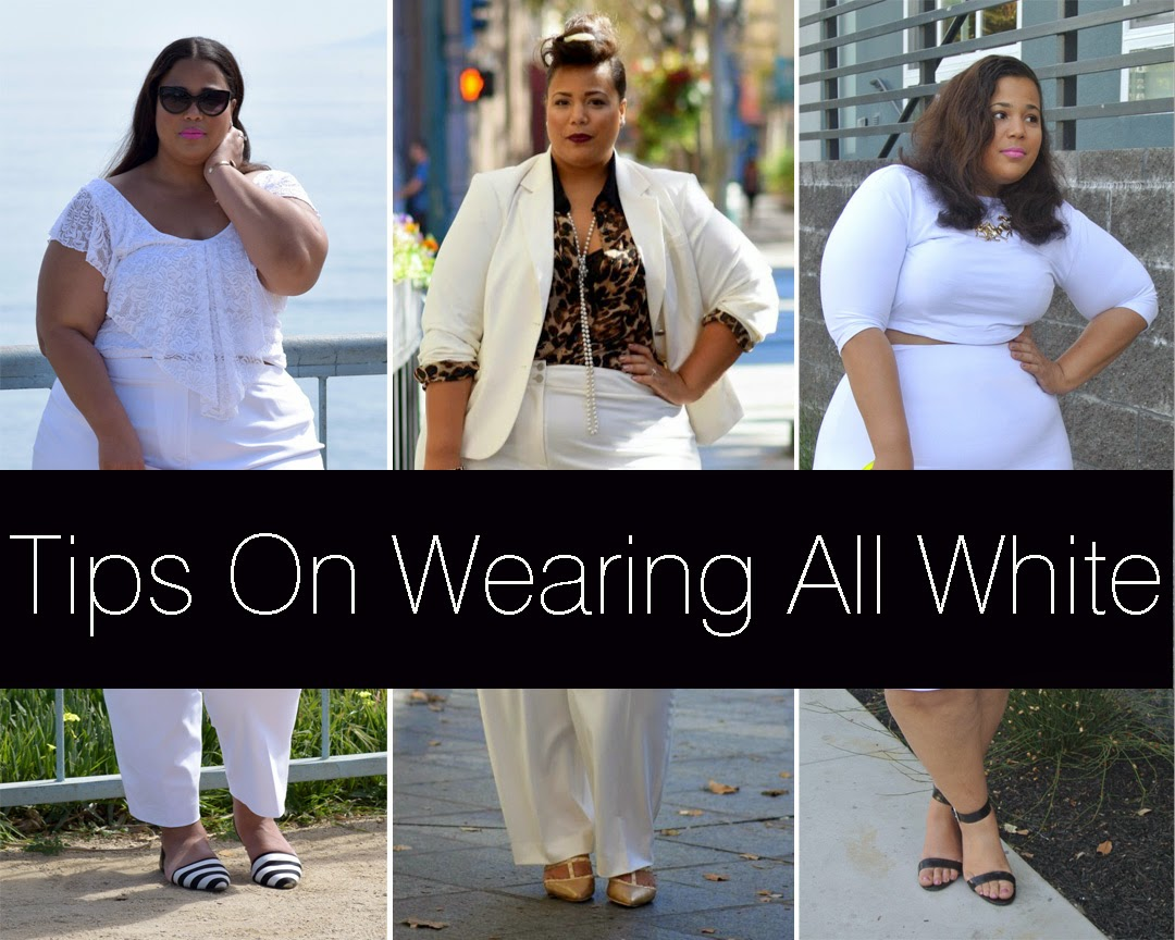 tips on wearing all white