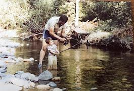 Josh & I fishing