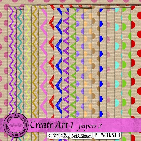 HSA Create Art papier 2