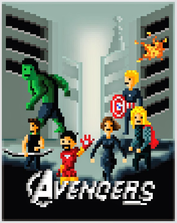 the avengers pixel