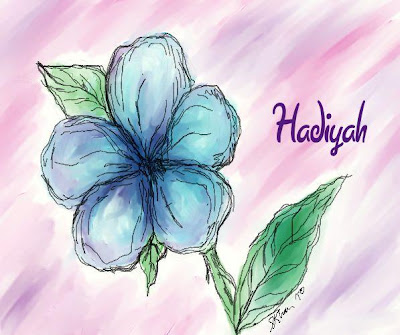 1st Flower Drawings