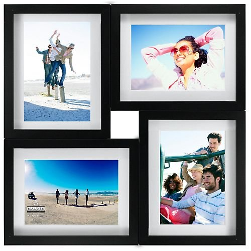 Wood Collage Frame For 5x7 Prints By Malden Black 4