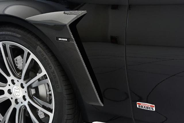 環境に配慮?ブラバス仕様のベンツSクラスのハイブリッド車を公開