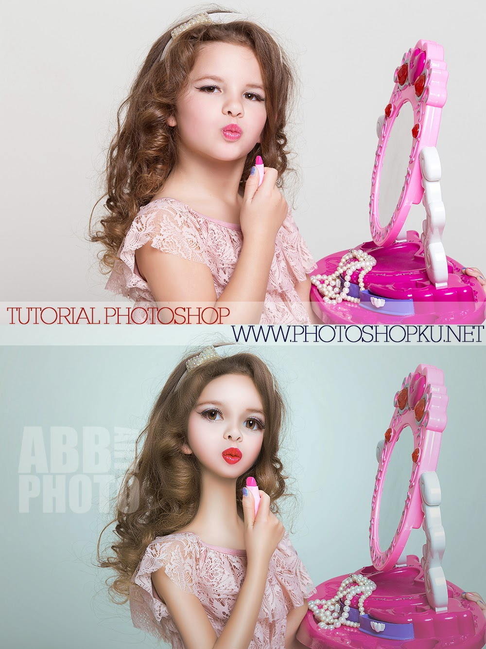 Permalink to Tutorial Retouching Merubah Foto Menjadi Boneka Barbie