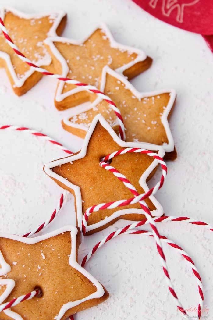 Receta de galletas para navidad: galletas de mantequilla y turrón