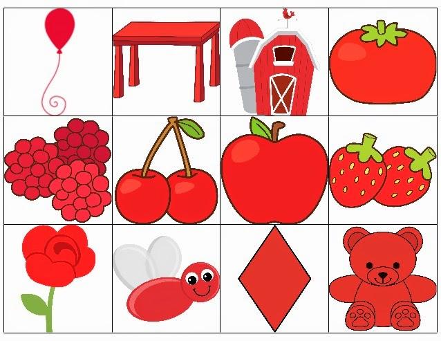 Infantiles De Ana V Los Colores El Color Rojo