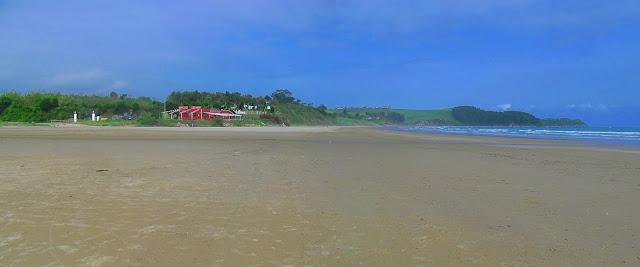 Playa de Oyambre en Cantabria