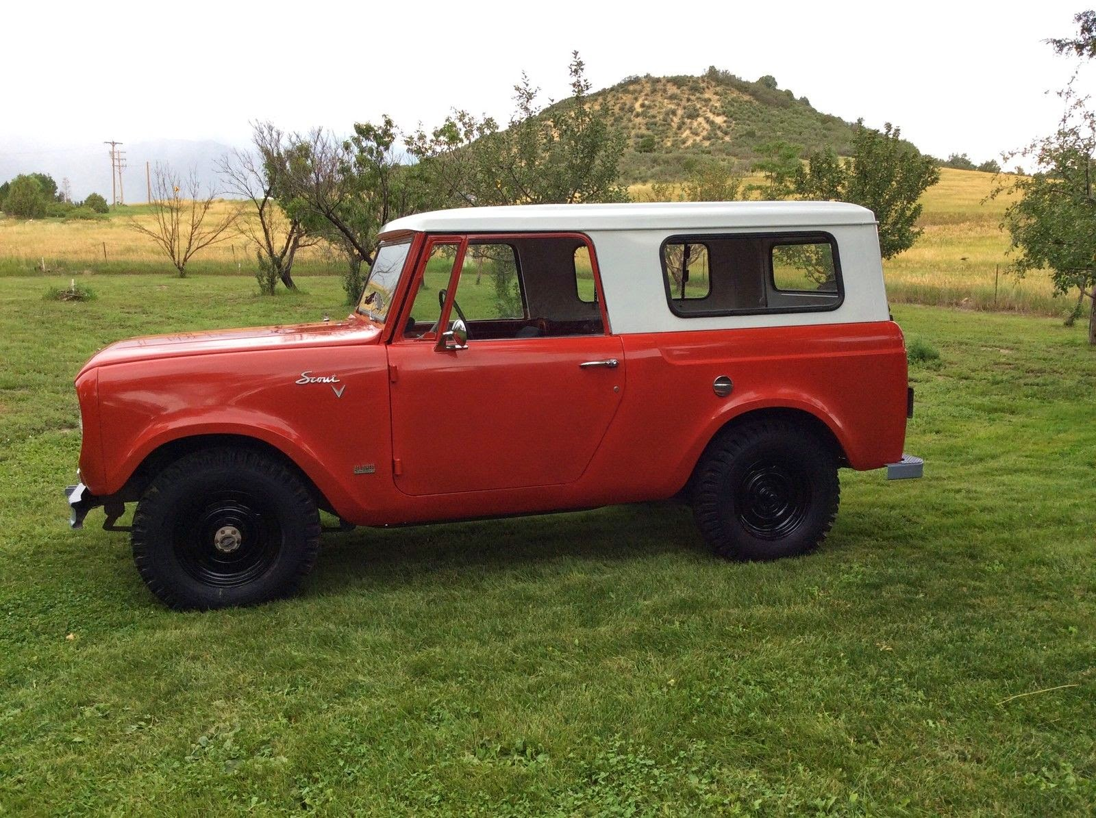 Daily turismo 5k classic offroader 1967 international harvester scout 800