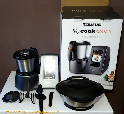 Cocinar con mycook nueva mycook touch - Cocinar con robot ...
