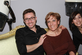 Eddy du Studio 54 avec Eugénie et sa fille Audrey.