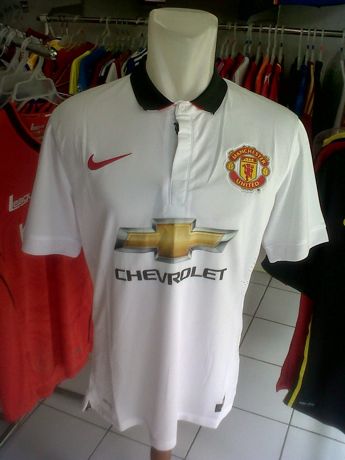 Jersey Manchester United Away 2014/2015