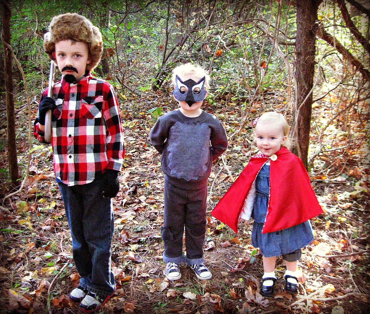 sc 1 st  Freshly Completed & Freshly Completed: Little Red Riding Hood + Big Bad Wolf + Woodsman