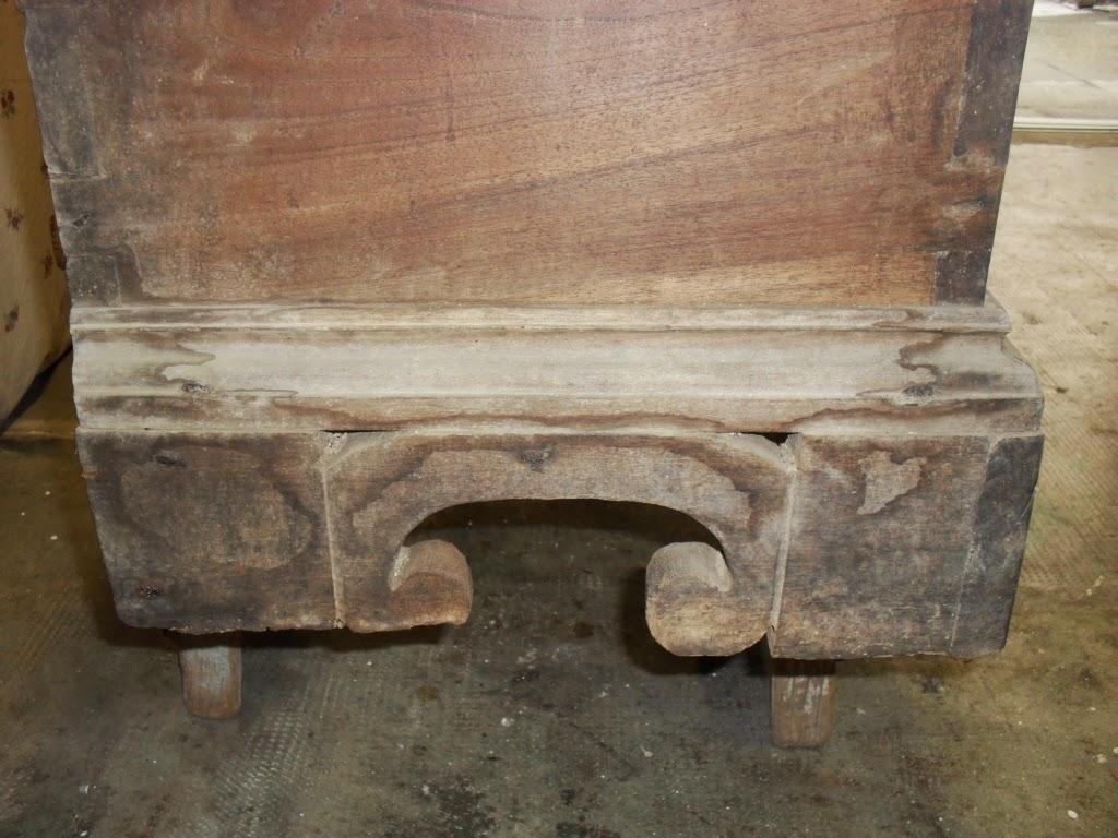Lanarorestaura restauro ricostruzione piede cassapanca for Cassapanca del 700