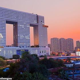 edificio en forma de elefante