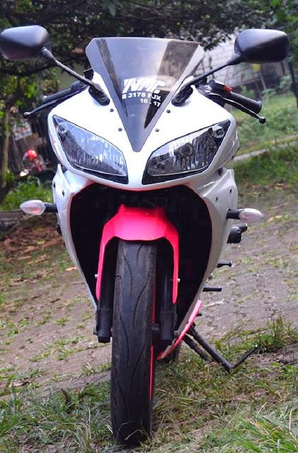 Bagian Depan Yamaha Vixion Modifikasi Sporty