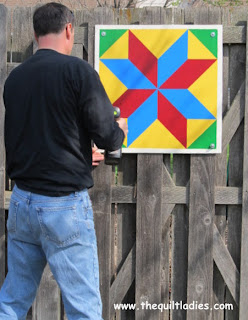 in town barn quilt