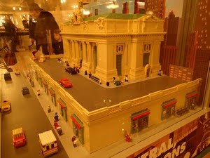 Grand Central Terminal en Lego, New York