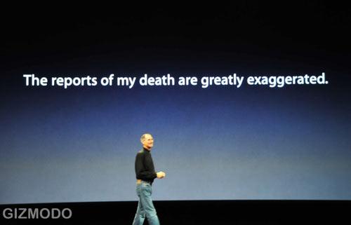 steve jobs health issues. gossip hell, Steve Jobs!