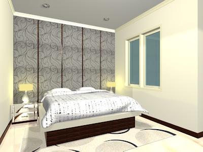 denah rumah minimalis desain interior kamar tidur