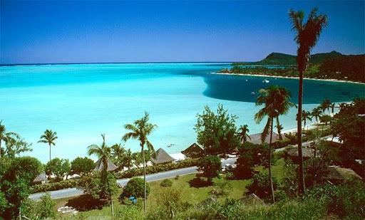 Bora Bora Traumstrand in der Südsee