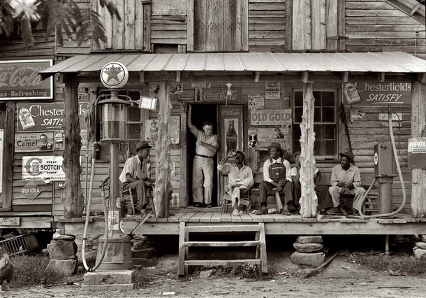 Old Gold', Country store, 1939