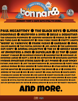 Paul McCartney confirmado no Bonnaroo Festival 2013