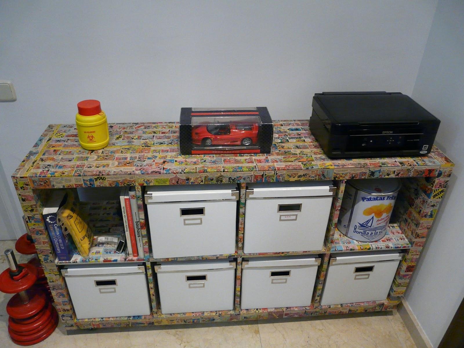 Upcycling design customiza ikea - Mueble expedit ikea ...