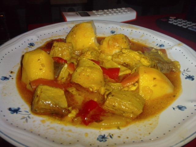 Las recetas de yoli carne guisada con patatas en olla r pida - Patatas en olla rapida ...