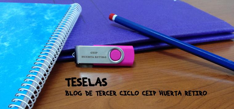 TESELAS: Blog del tercer ciclo del CEIP Huerta Retiro