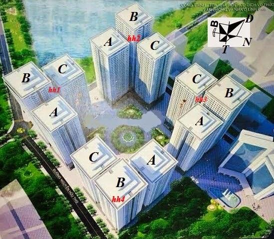 Tổ hợp chung cư HH3 Linh Đàm
