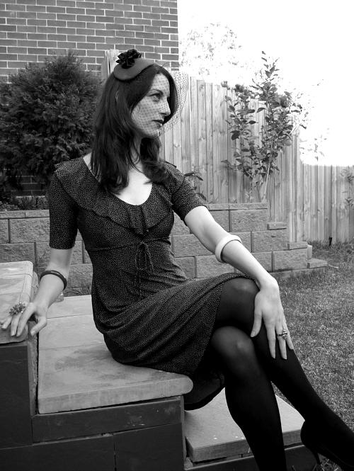 Tanith Rowan: Velvet Fifties Hat