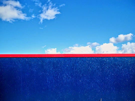red line, blue sky, abstract, contemporary photography, photo, art,