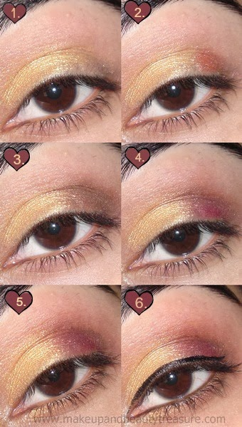 Bride Eye Makeup Tutorial : Bridal Eye Makeup Tutorial Makeup and Beauty Treasure