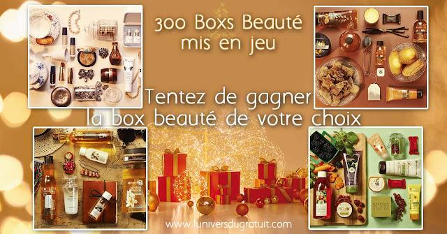 jeu concours Yves Rocher 300 Boxs Beauté à gagner !