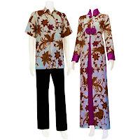 SG 5115 - Batik Gamis/Muslim Pasangan Solo 2013