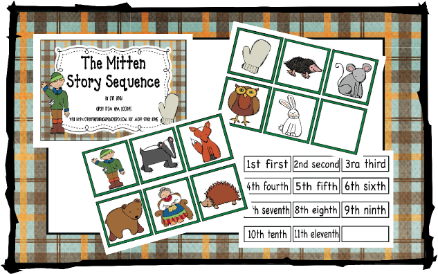 The Mitten Sequencing Activity | New Calendar Template Site