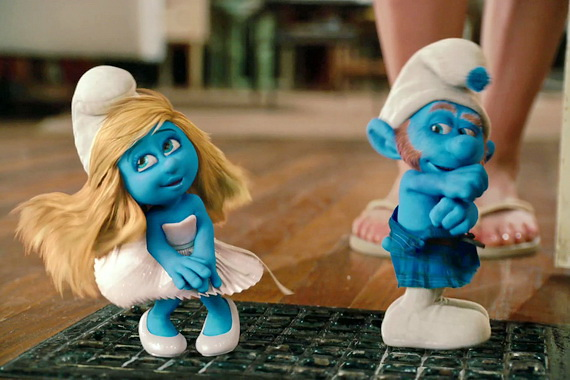 The Smurfs, Photograph