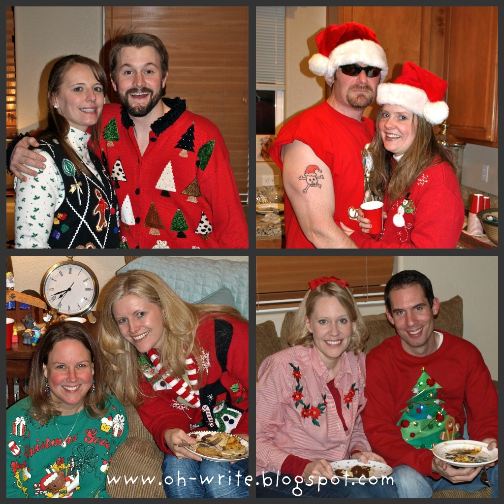 Tacky Sweater Christmas Party Games 2