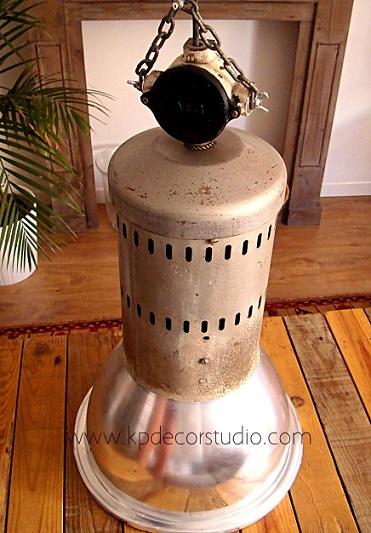 Tienda online de lámparas vintage estilo industrial. Lámparas de fábricas y naves antiguas