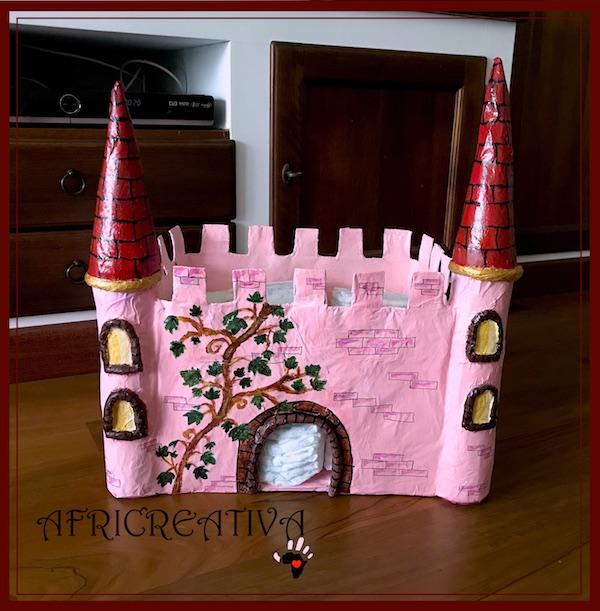 Castello porta pannolini e gioco per bimbo