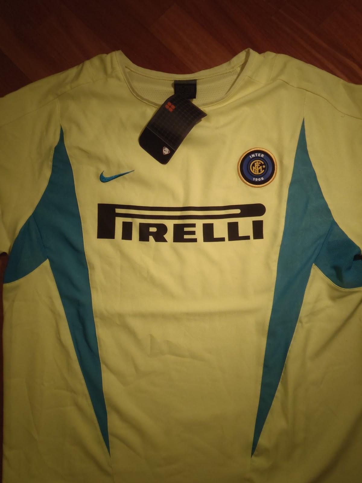 Maglia gialla Inter