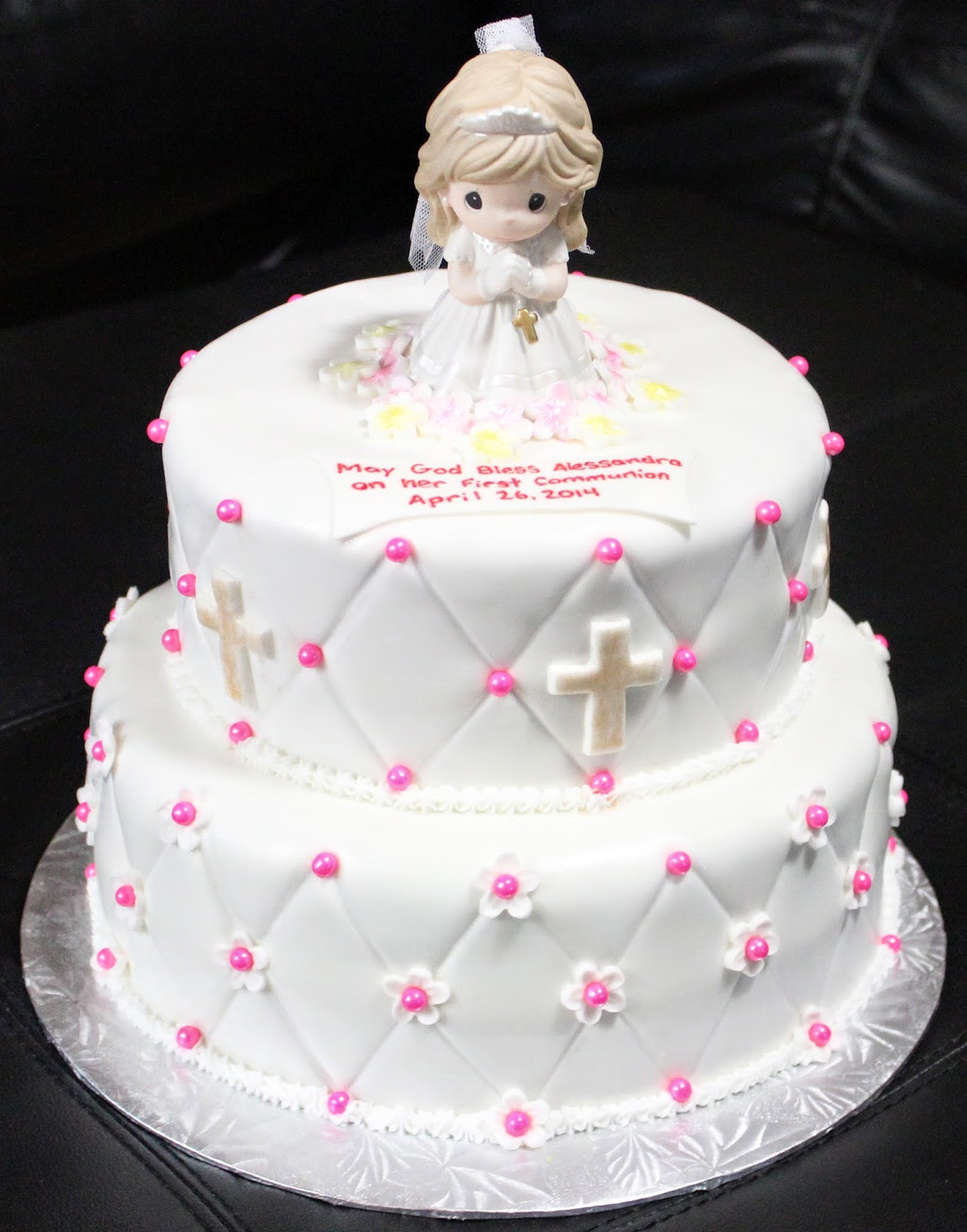Love Dem Goodies: First Communion Cake